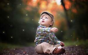 Cute stylish baby boy nice innocent expression