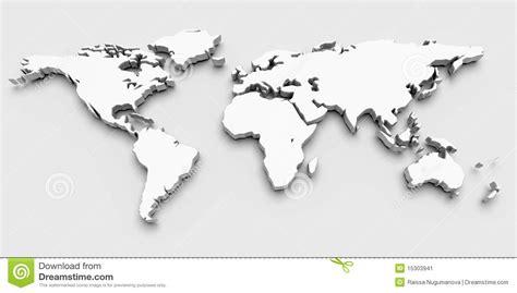 Carte Du Monde 3d by Carte Du Monde 3d Image Stock Image 15303941