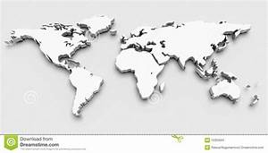 3D World Map Stock Image 15303941 New Besttabletfor Me In ...