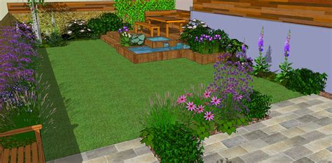 landscape gardeners uk low maintenance garden designs garden club london