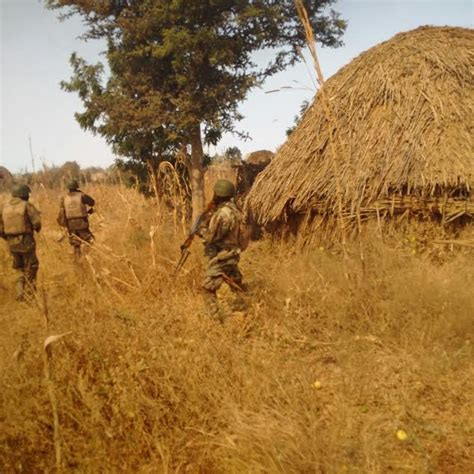 haram boko sambisa camps forests nigerian army nigeria destroys troops sam12