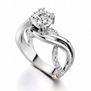 unique engagement ring settings With white gold wedding ring settings without stones