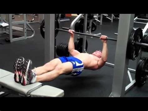 how to smith machine elevated inverted row