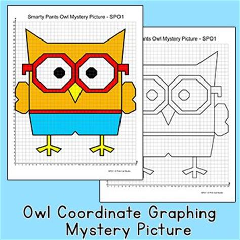 wise owl coordinate graphing ordered pairs