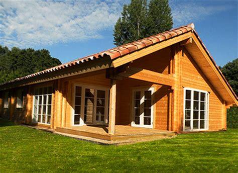 chalet et maison bois en kit greenlife bois massif et