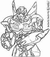 Bumblebee Coloring Cartoon sketch template