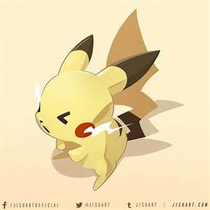 Chibi Pikachu by JisuArt on DeviantArt