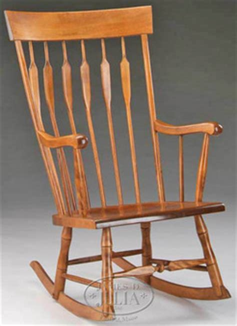Nichols And Rocking Chair Value by Furniture Chair Rocking Nichols Maple Arrow