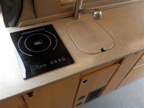 kitchen options refrigerators cooktops custom van conversions