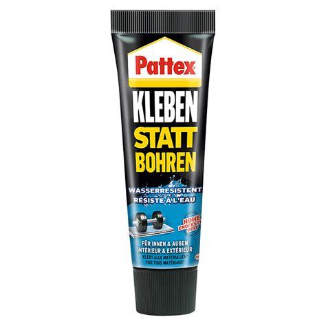 pattex kleben statt bohren 340 g wasserresistent 6353 montagekleber baender hcdb