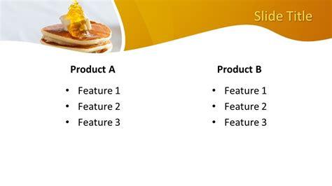 pancake powerpoint template  powerpoint templates
