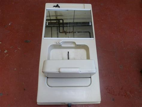 Caravan Motorhome Conversion Plastic Bathroom Unit With