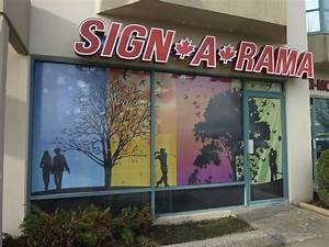 consider holiday themed business signs signarama blog With window lettering for businesses