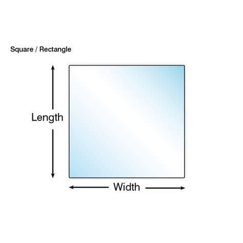 Bathroom Mirrors Cut To Size by Cut To Size Mirror 4mm Rectangle Or Square Cut To Size