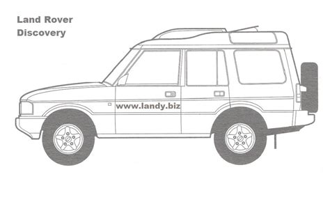 Range Rover Sport - Free Colouring Pages