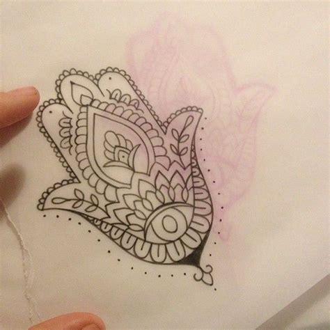 simple hamsa tattoo eclectic ink tattoos hamsa tattoo hamsa hand tattoo