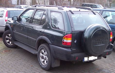 Opel Frontera by File Opel Frontera Hl Green Jpg Wikimedia Commons