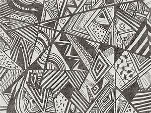 Papier Peint Motif Geometrique : papier peint motifs g om triques pour ext rieur afromix ~ Dailycaller-alerts.com Idées de Décoration