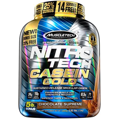 Amazon.com: MuscleTech NitroTech Whey Plus Isolate Gold