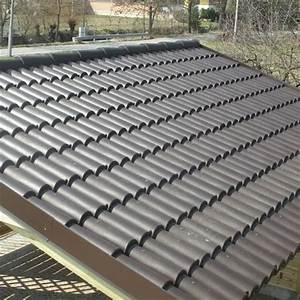 COPPI PVC rossi per copertura da esterno Confezione 1,40 Mq Onlywood