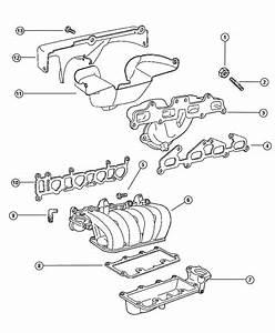 Plymouth Breeze Gasket  Intake Manifold  Intake Manifold