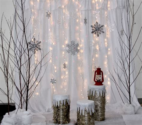 Background Winter Backdrop Ideas by Winter Photo Booth Backdrop Backdrop