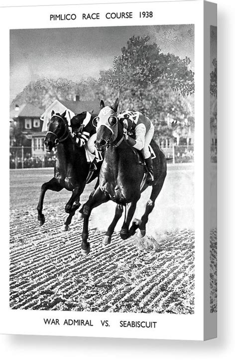 Seabiscuit Vs War Admiral, Match Of The Century, Pimlico