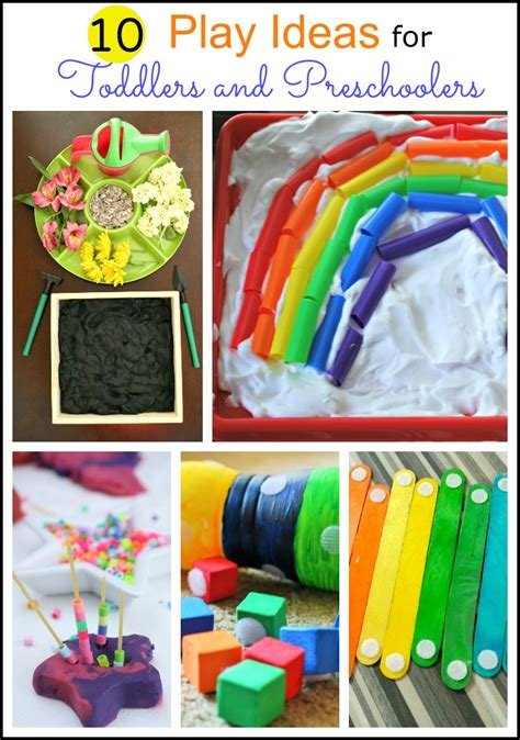 10 Play Ideas For Toddlers And Preschoolers  Mess For Less