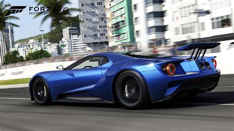 Huge Active Rear Wing Of 2017 Ford Gt Seen For The First
