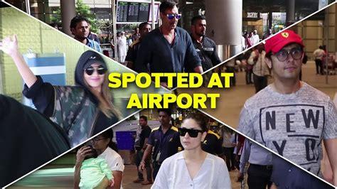 Kareena,ajay Devgan, Sonakshi & Sonu Nigam Spotted At