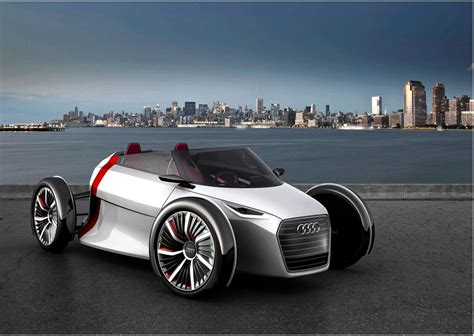 Audi Etronbranded Concepts The Future Urban Electric Car