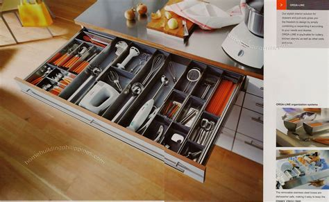 Orga Line Drawers and Pull Outs for Organizing Kitchen