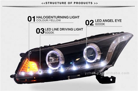 Ce E-mark Certifications Headlight Type Innovative Car Accessories Hid Projector Headlight Angel