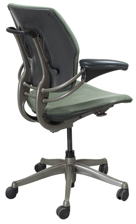 humanscale freedom used task chair olive national