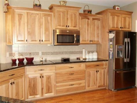 hickory cabinets kitchen and paint colors