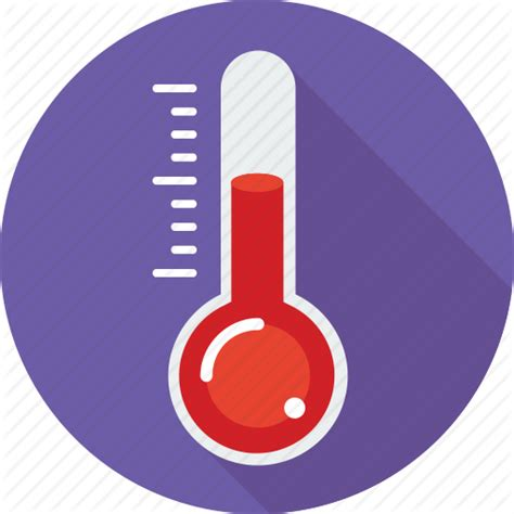 what does a thermometer icon in the weather channel counter temperature thermocouple thermometer icon