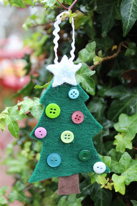 craft christmas tree ornaments ornament craft ideas for your to make