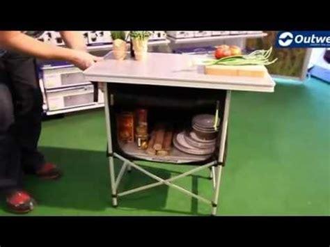 Outwell Regina Folding Kitchen Table  Campingworldcouk