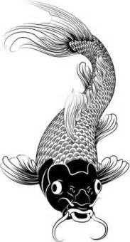LostBumblebee ©2015 MDBN :: GROWN UP COLOURING / COLORING SHEETS :: KOI FISH :: Free Donate to
