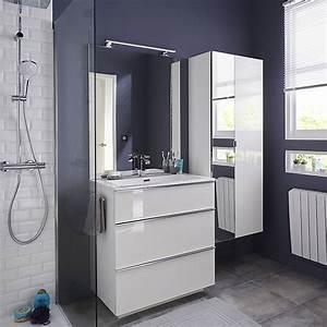 Meuble Salle Bain Castorama : meubles de salle de bains pamili castorama ~ Melissatoandfro.com Idées de Décoration