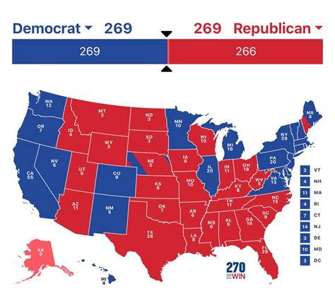 """The democratic ticket of former vice president joe biden and incumbent. """"2020 cant get worse"""" watch this be the election map : thedavidpakmanshow"""
