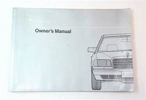 Mercedes Operating Instructions Owners Manual 300e 300sel W126
