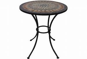 Siena Garden Tisch : siena garden prato tisch rund 70cm eisen m mosaikoptik ~ Orissabook.com Haus und Dekorationen