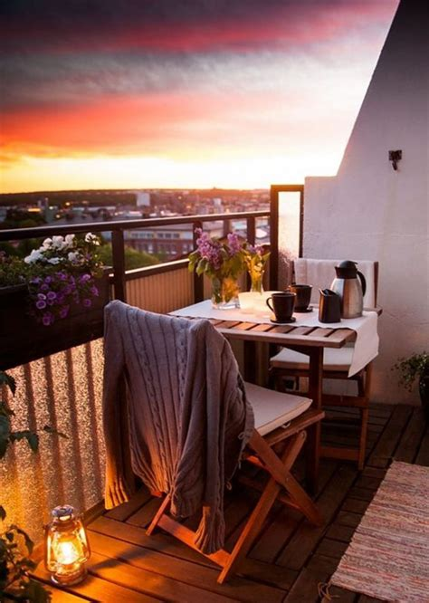 20 Balcony Decoration Ideas that will Make You Want to