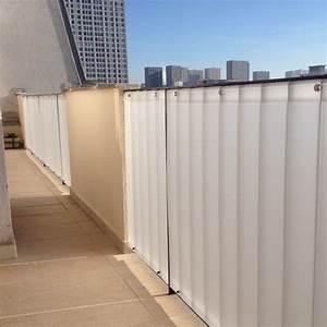 Brise Vue Plexiglass : brise vue balcon pare vue et brise vent en plexiglas ~ Premium-room.com Idées de Décoration