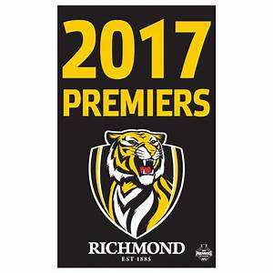 Richmond Tigers 2017 Premiers Supporter Flag