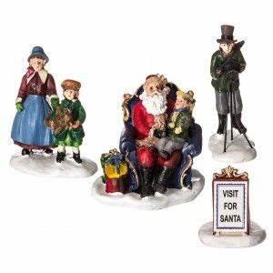 Personnage Pour Village De Noel : personnage et accessoire pour village personnages village de noel eminza ~ Melissatoandfro.com Idées de Décoration