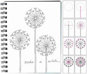 How to Draw a Dandelion | Art Projects for Kids