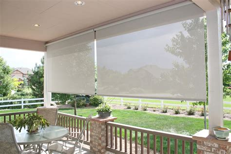 patio roller shades make the most of your summer with exterior roller shades