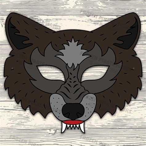 pigs printable masks big bad wolf